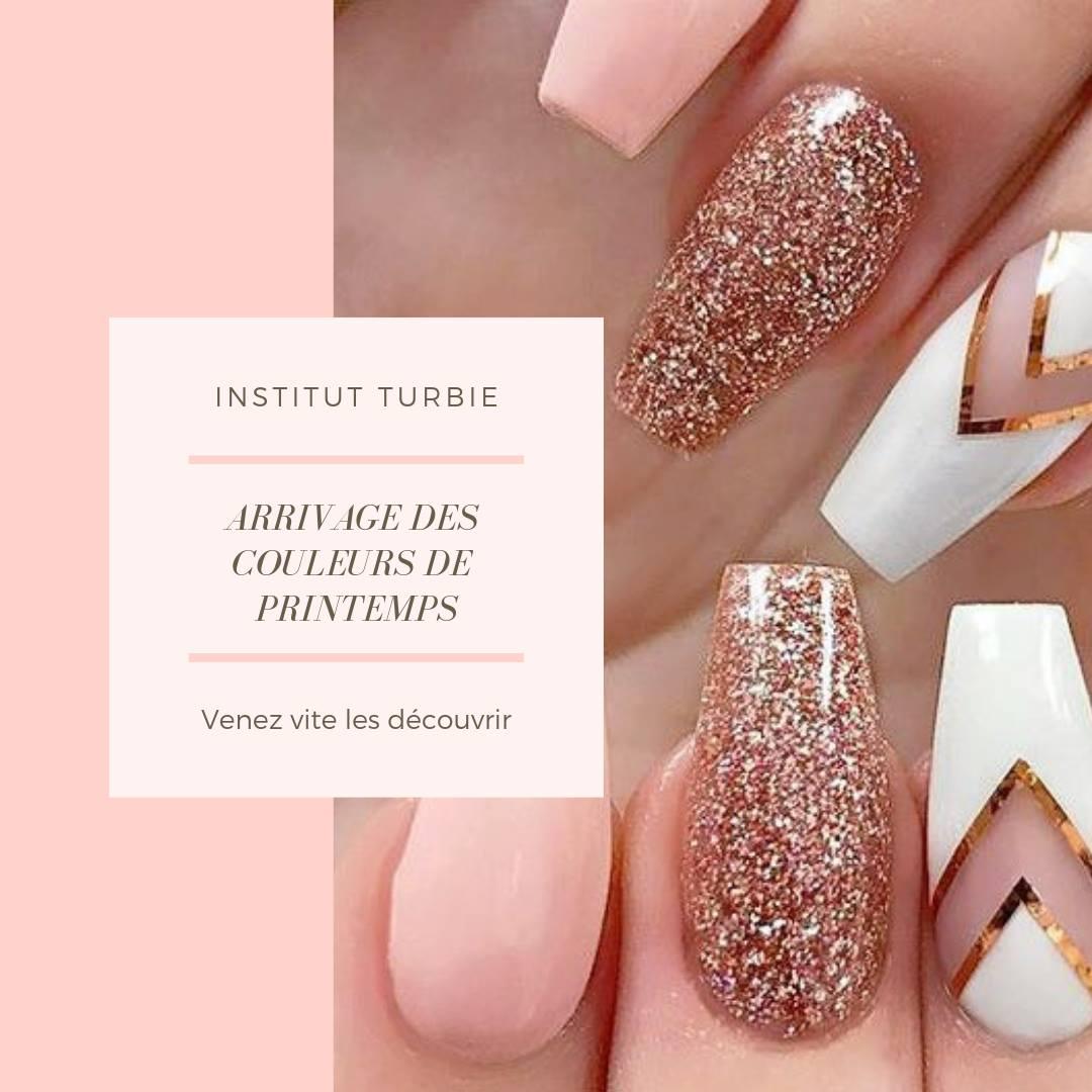 Nouvelles couleurs printanières pour vos ongles !