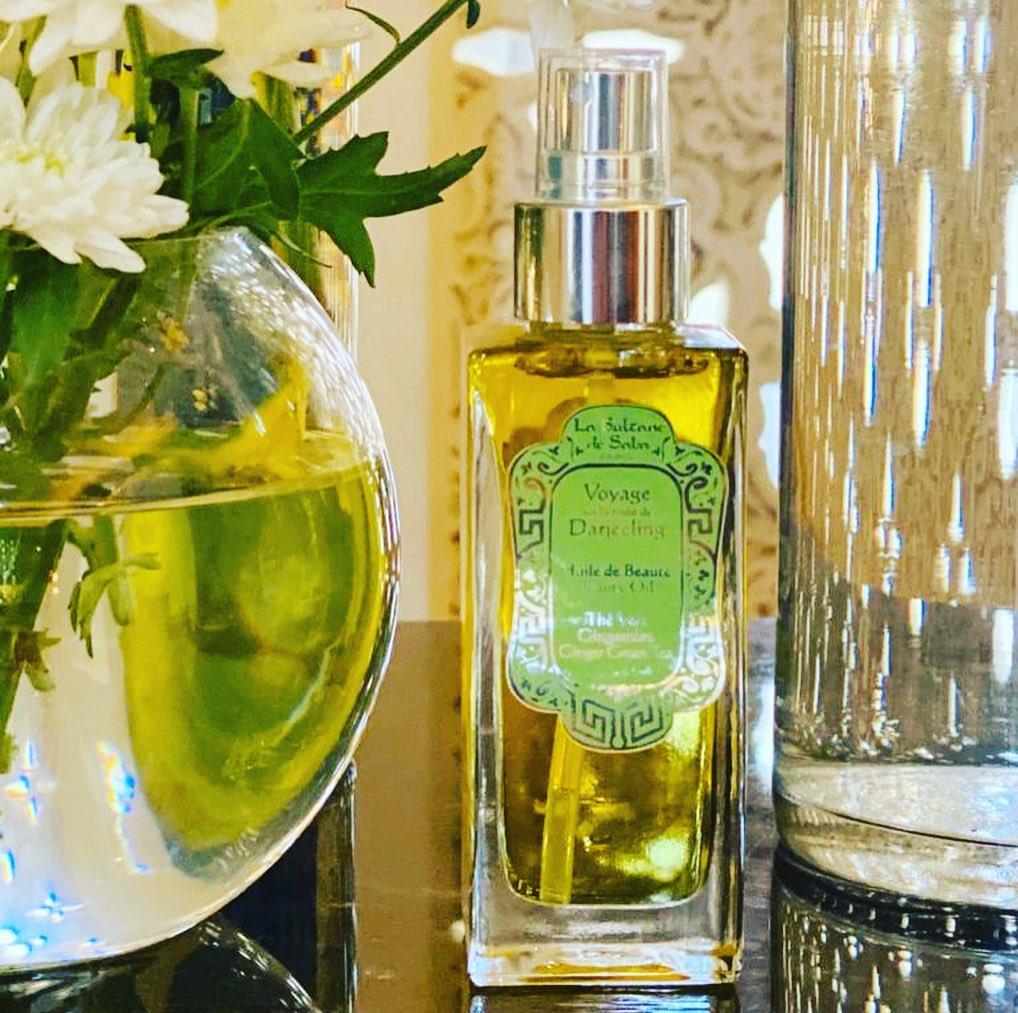 Les huiles parfumées